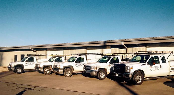 Doug's Electrical Service Trucks
